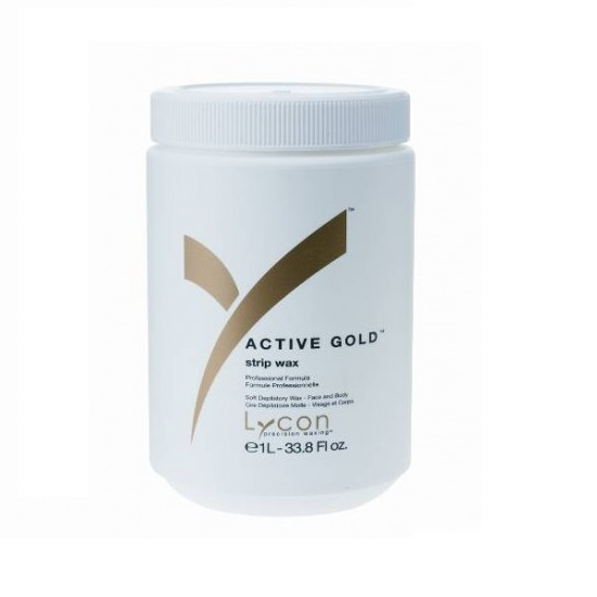 active gold strip wax 1lt yn salon supplies