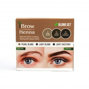 Irina Levchuk Henna Brows