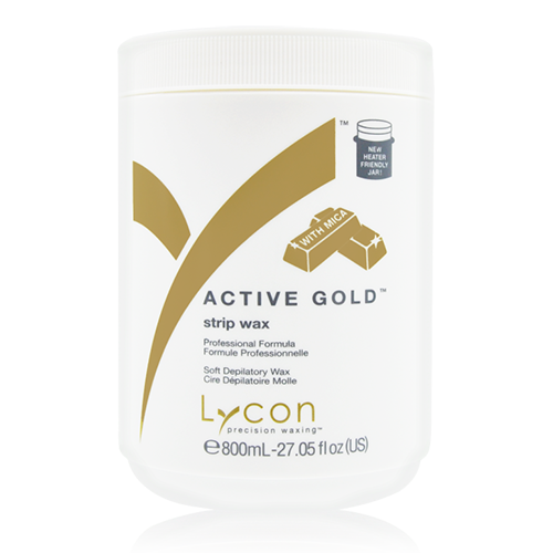 active gold strip wax 800ml yn salon supplies
