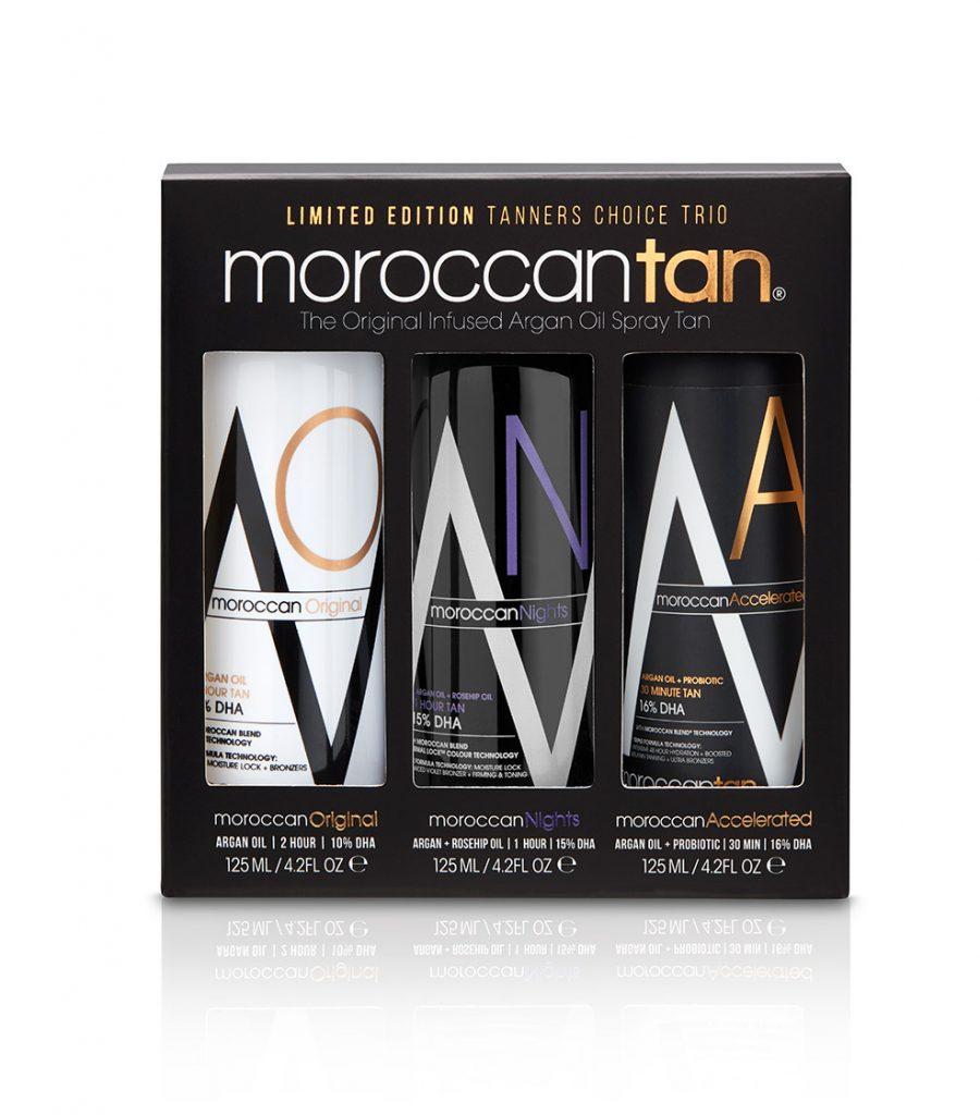 Moroccan Tan Tanners Choice Trio - Sample Pack 3x125ml
