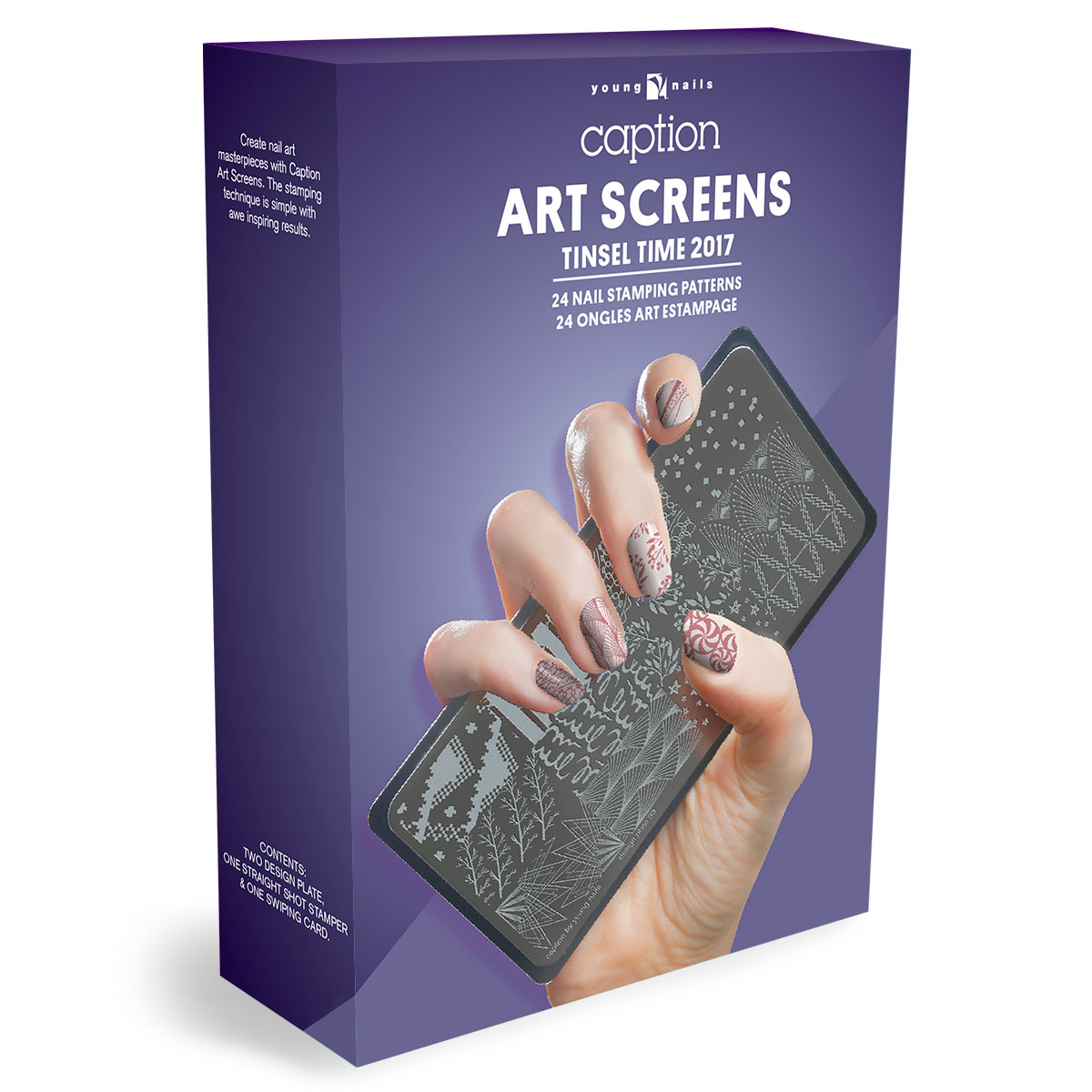 Art Screens - Tinsel Time | YN Salon Supplies